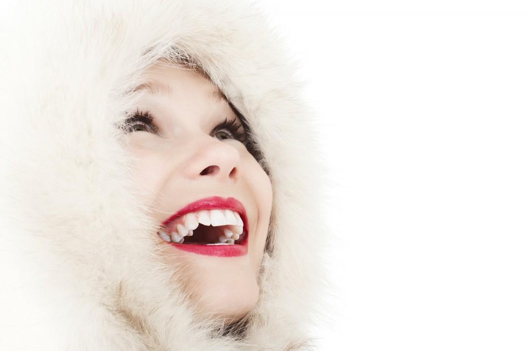 sonrisa invierno